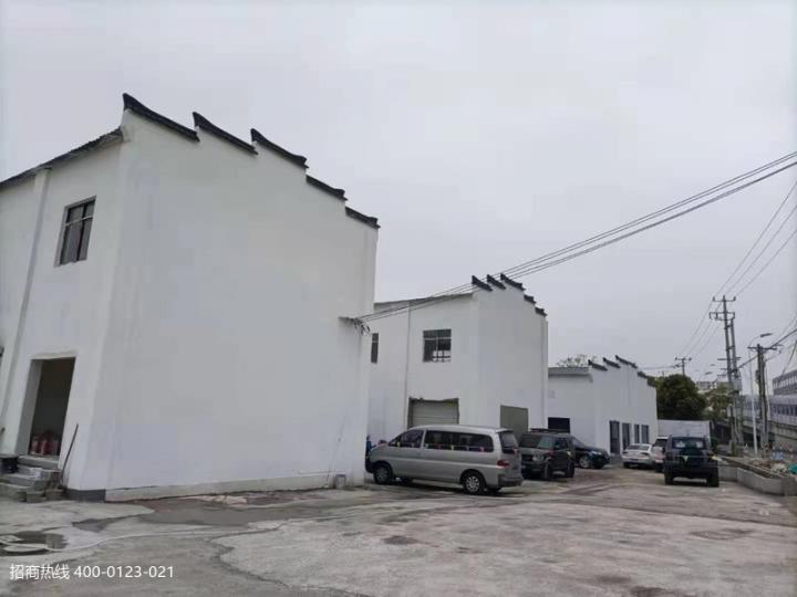 闵行梅陇虹梅南路主干道旁 展厅类企业新建单层独栋厂房仓库出租 600平,800平方