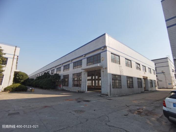 松江九亭新空单层独栋仓库厂房出租 面积厂房500平方起租